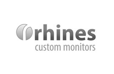 Rhines Custom Monitors Sponsor Logo